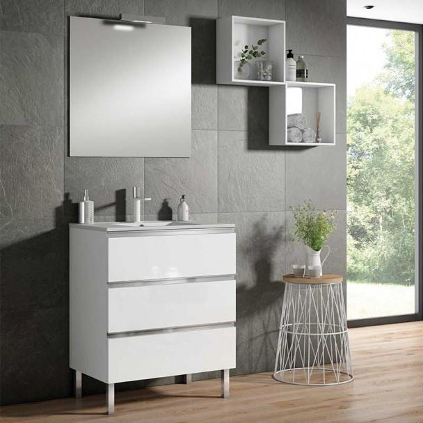 Conjunto Mueble de Baño Monza 3C Slim