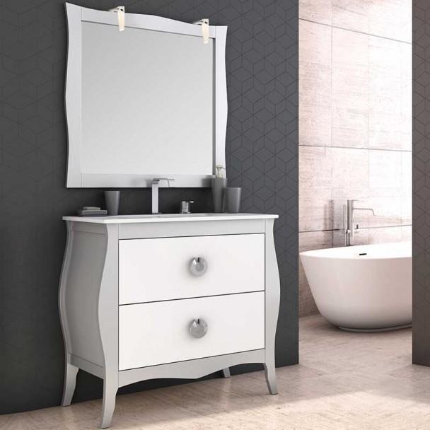 Conjunto Mueble de Baño Mozart Lavabo Cerámico