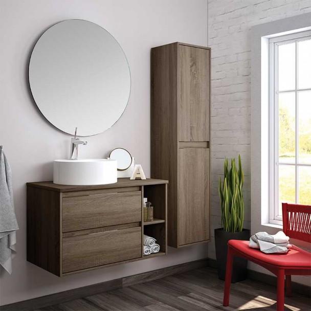 Conjunto Mueble de Baño Dénia Round