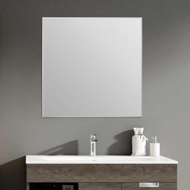Espejo de Baño Cuadrado Bisel