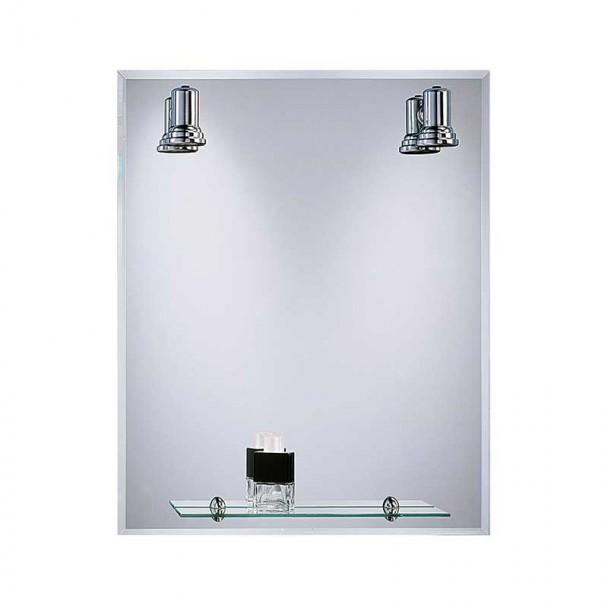 Espejo de Baño con Focos Balear Bisel 60x75 cm