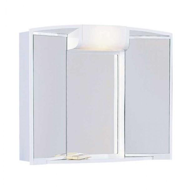 Camerino de Baño Angy ABS Blanco 3 Puertas