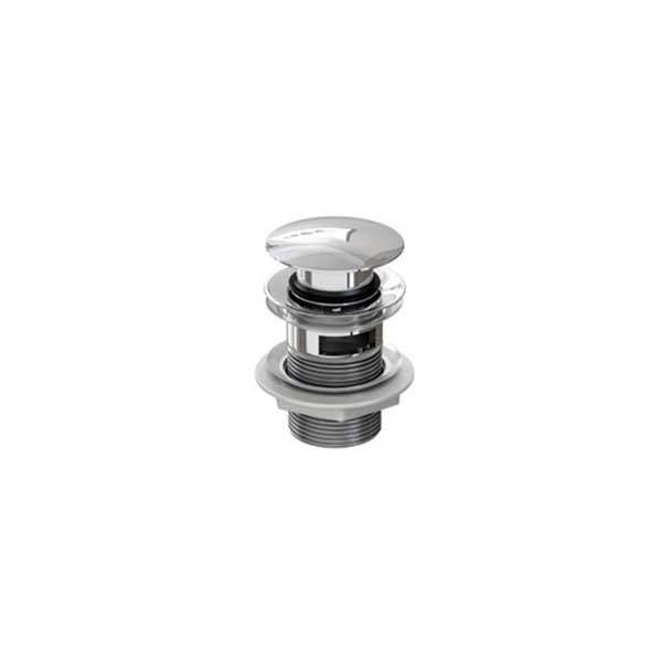 Válvula Clic-Clac Redonda para Lavabo con Rebosadero