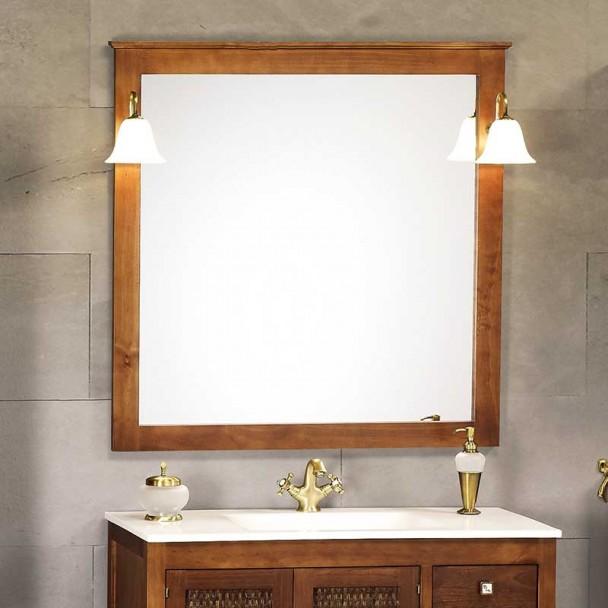 Espejo de Baño Rústico Jaca
